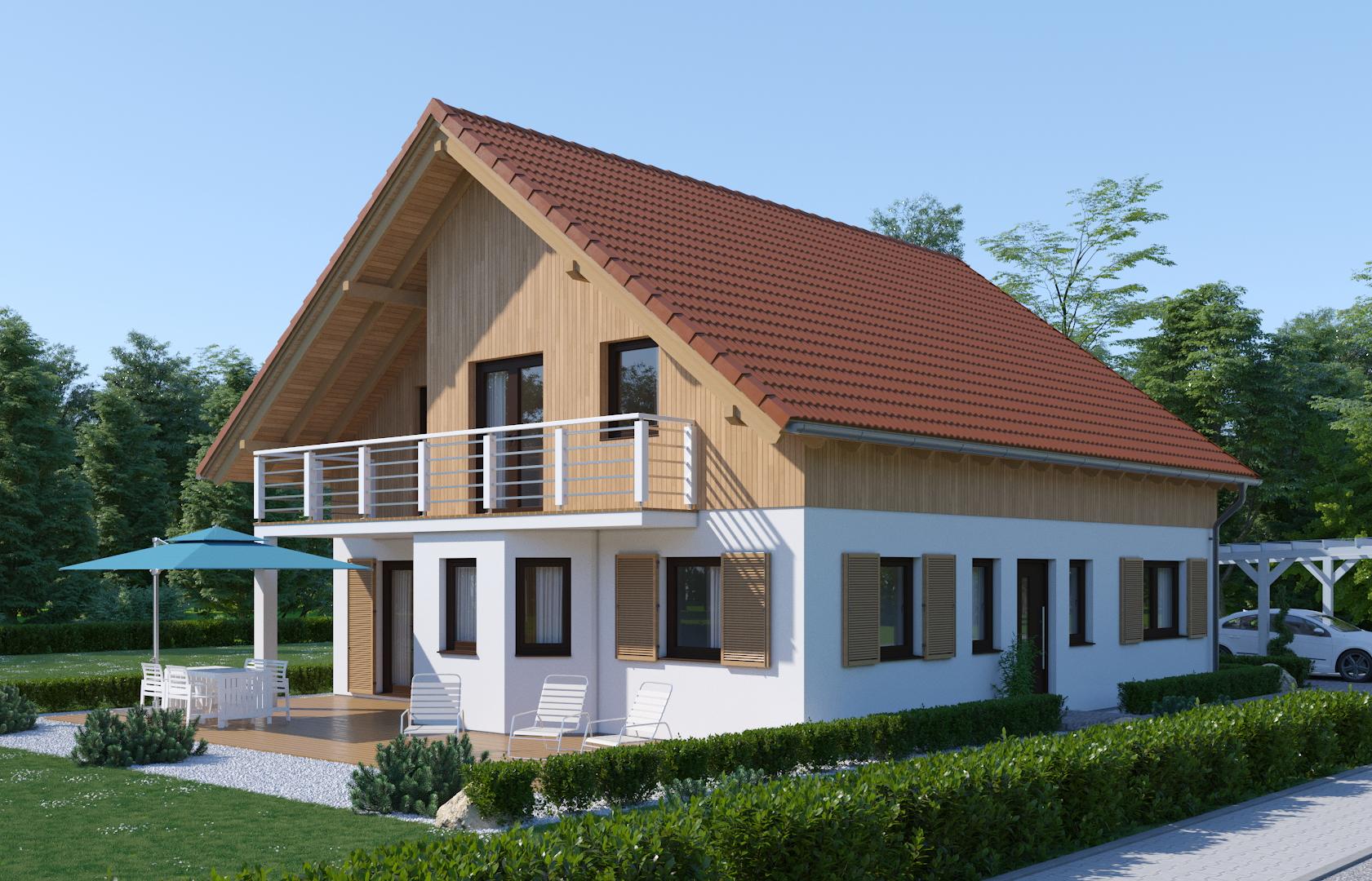 Das Bodenseehaus Musterhaus München Poing