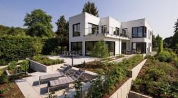 FingerHaus Kundenhaus Bauhaus-Unikat Außenansicht