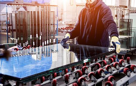 Produktion von Glas