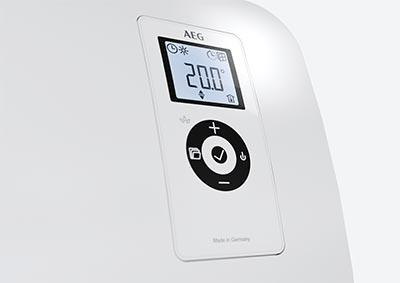 Bedienelement Ventilatorheizer VH Comfort von AEG Haustechnik