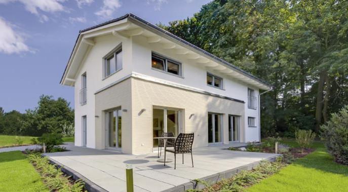 Haas Fertigbau Musterhaus Basic Linie Jubilée XL Plus