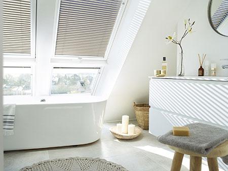 Badrenovierung mit Dachfenster von Velux