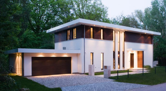 Haacke Haus Bauhausvilla Außenansicht