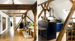 Umbau Wohn-Atelier mit Dachfenstern von Velux
