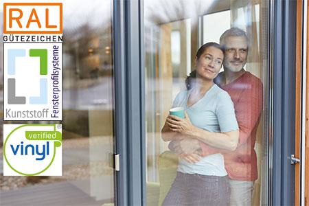 RAL Gütezeichen Kunststoff-Fensterprofilsysteme