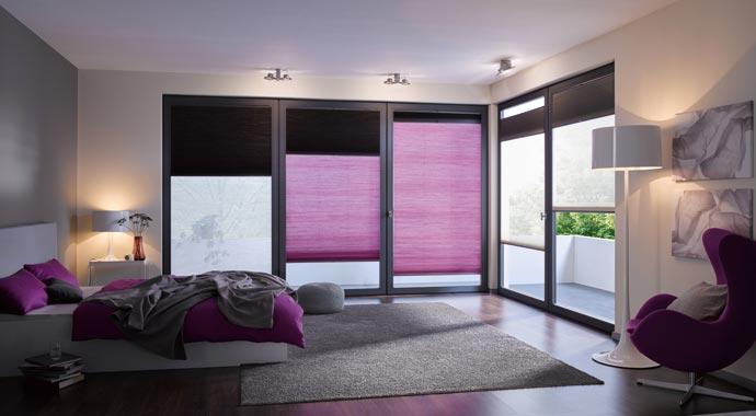 hunter douglas sonnenschutz duette wabenplissee. Black Bedroom Furniture Sets. Home Design Ideas