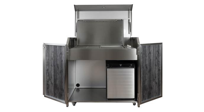 Outdoorküche von Stengel Steel Concept