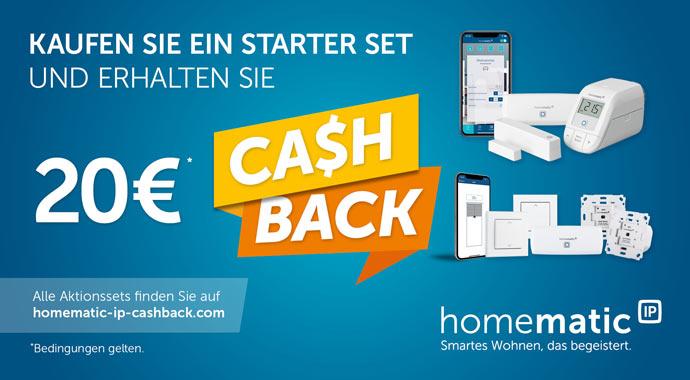 Homematic IP Cashback-Aktion