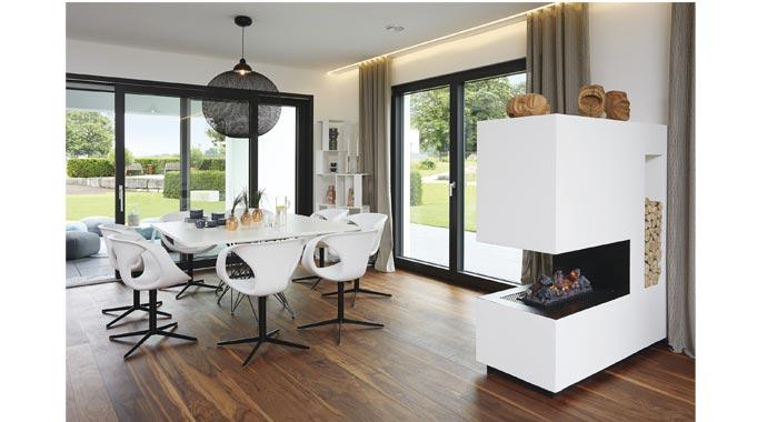 Architektenhaus Innen weberhaus ausstellungshaus rheinau linx individuelles architektenhaus
