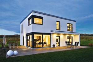 Regnauer Hausbau Haus Lehr Außenansicht