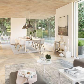 Musterhaus Linea von Partner Haus