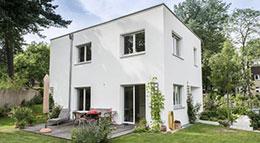 Ytong Bausatzhaus Kundenhaus Kramer Außenansicht