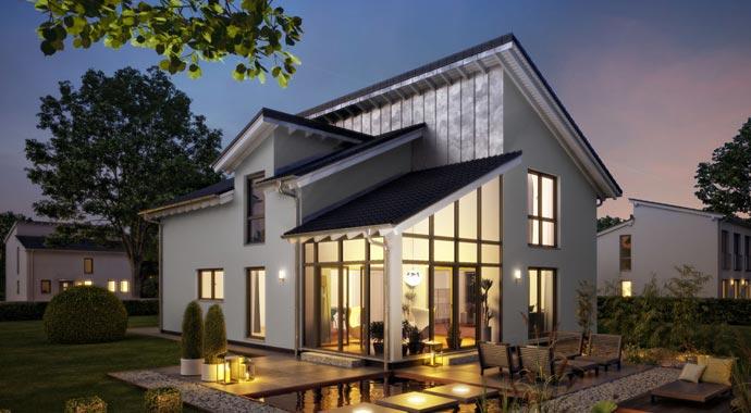 Familienhäuser Architektenhaus Akzent von Kern-Haus