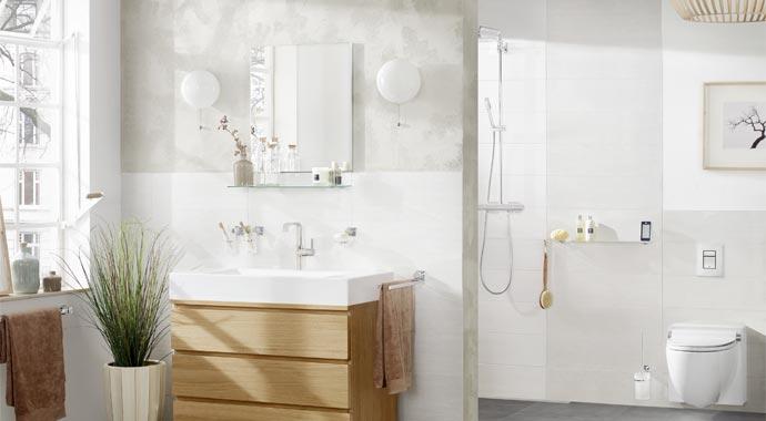 GROHE ist der weltweit führende Anbieter von Sanitärarmaturen.