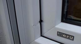 Weru-Fenster mit Sicherheitsbeschlag
