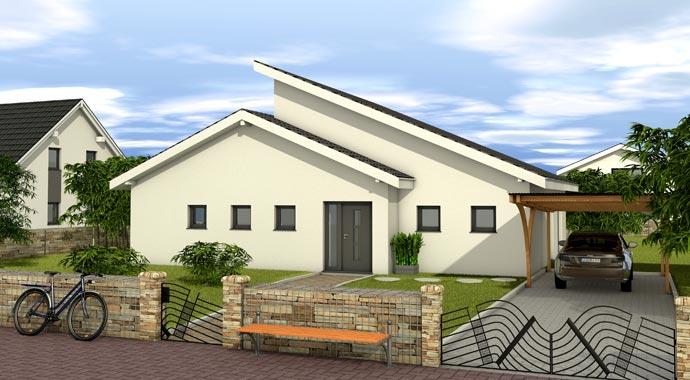 Favorit massivhaus chalet 132 for Chalet haus bauen