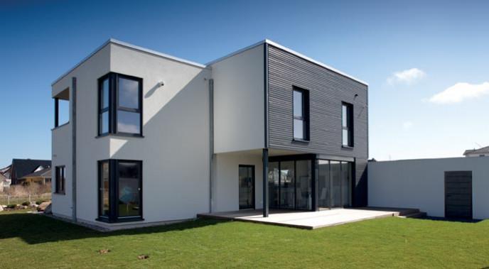 FingerHaus Kundenhaus Architekturtrend Außenansicht