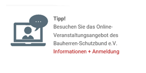 Bauherren-Schutzbund e.V. Webinare