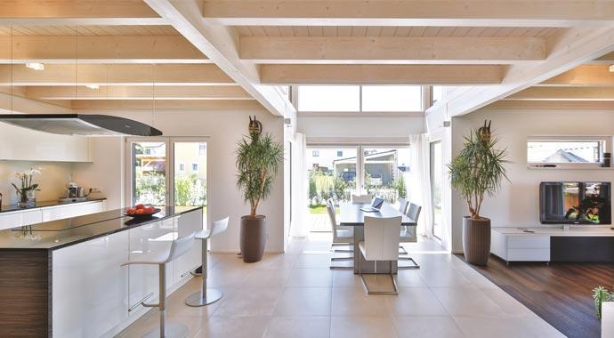 regnauer hausbau haus oberpframmern. Black Bedroom Furniture Sets. Home Design Ideas