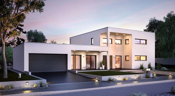 Kern-Haus Bauhaus Ixeo Außenansicht