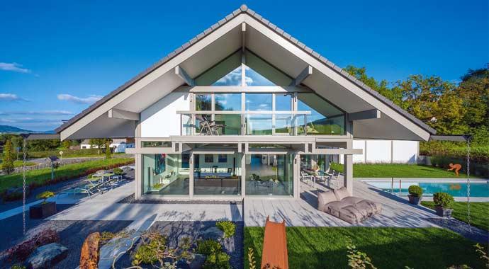 Fachwerkhaus ART green(r)evolution von Huf Haus