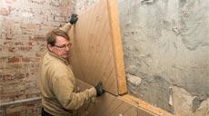 Holzfaserdämmmatte von Unger-Diffutherm