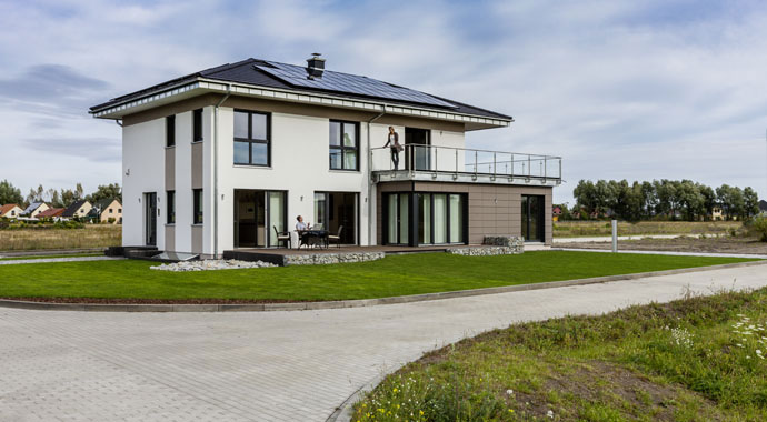 Kampa Haus Linz Sonderplanung Musterhaus Werder