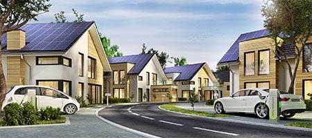 Energieautarke Neubausiedlung
