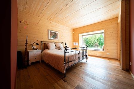 Schlafzimmer Flachdachbungalow Design 124 von Frammelsberger
