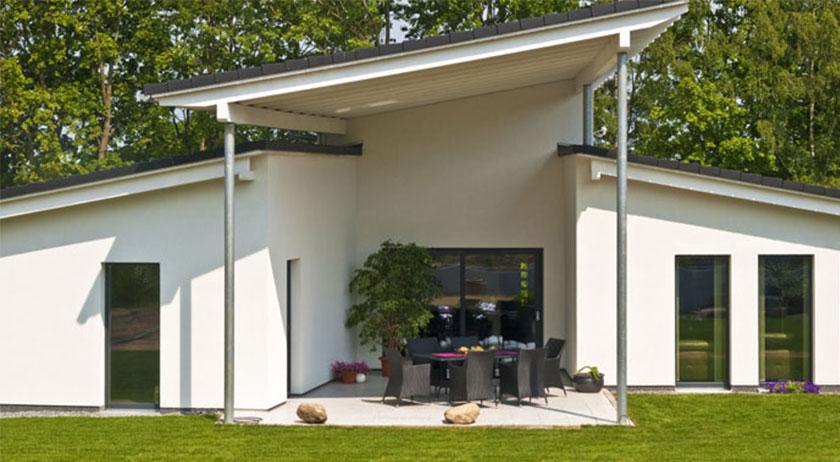 heinz von heiden bungalow mit pultdach. Black Bedroom Furniture Sets. Home Design Ideas