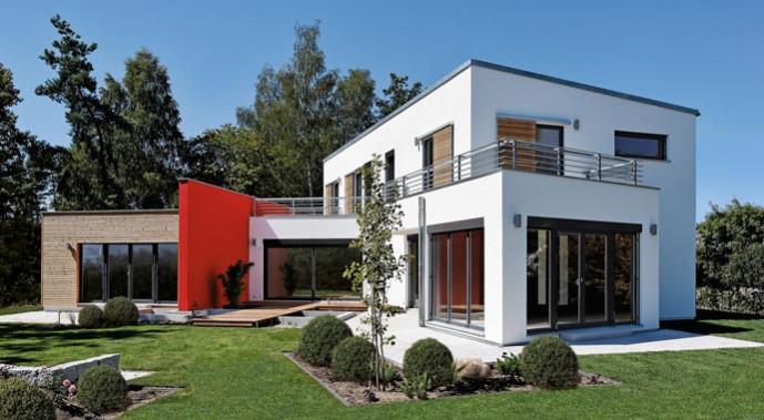 luxhaus musterhaus georgensgm nd. Black Bedroom Furniture Sets. Home Design Ideas
