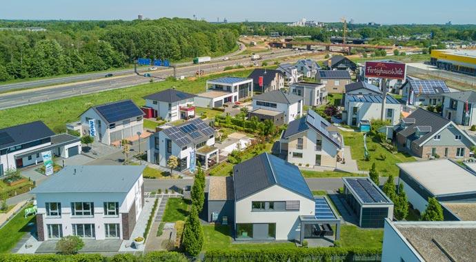Hier finden Sie die größten Musterhausparks Deutschlands
