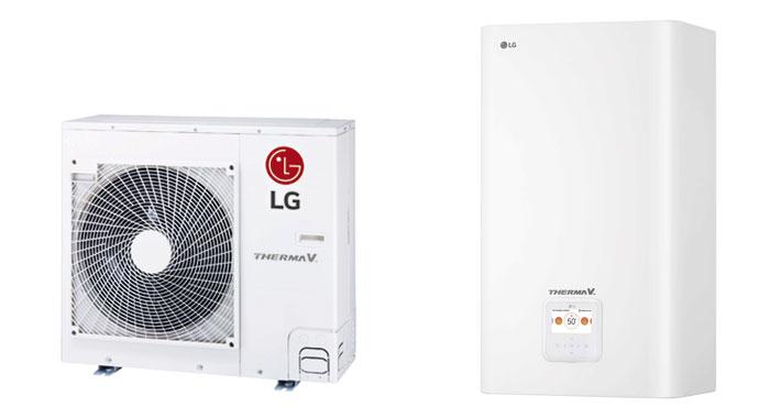 Luft-Wasser-Wärmepumpe THERMA V R32 SPLIT von LG Electronics