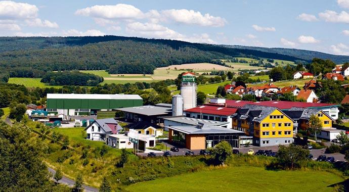 RENSCH-HAUS Firmengelände in Kalbach-Uttrichshausen