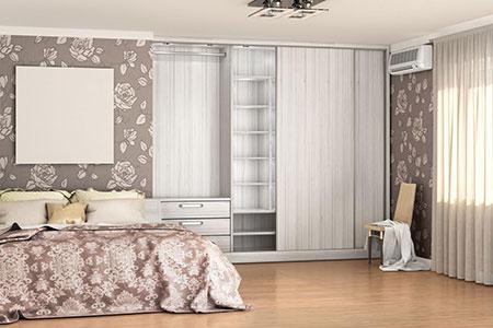Symbolbild Schlafzimmer in den USA