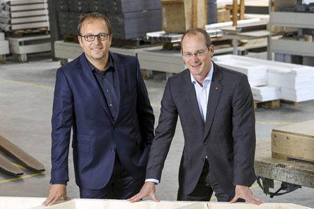 Klaus Cronau und Dr. Mathias Schäfer, Geschäftsführung von FingerHaus