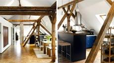Wohn-Atelier mit Dachfenster von Velux