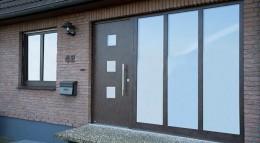 Holz-Haustür von Weru