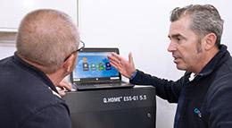 Monitoring-Software von Hanwah Q Cells
