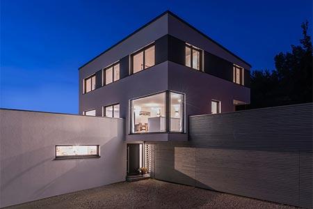 Außenansicht Architektenhaus Dettingen von Kitzlinger Haus