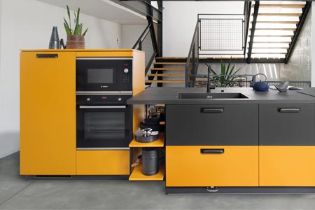 Schmidt Küchen mit individuell gestalteter Front