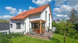 Außenansicht Haus Weinstadt von Rems-Murr-Holzhaus