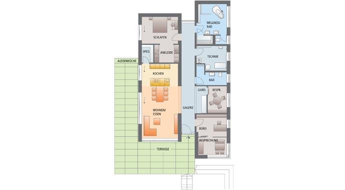 luxhaus luxhaus open musterhaus fellbach. Black Bedroom Furniture Sets. Home Design Ideas