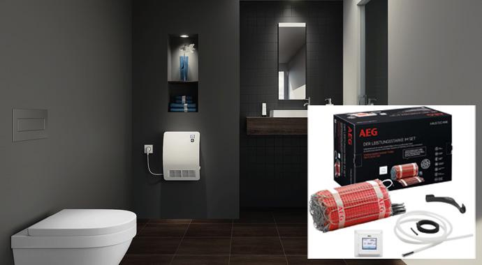 AEG Ventilatorheizer und Thermo Boden