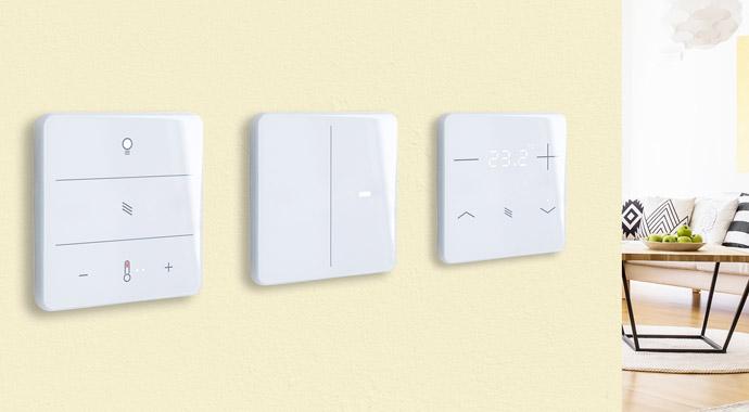 Touch-Taster KNX eTR M von Elsner Elektronik