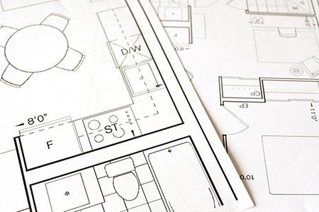Symbolbild Bauplan