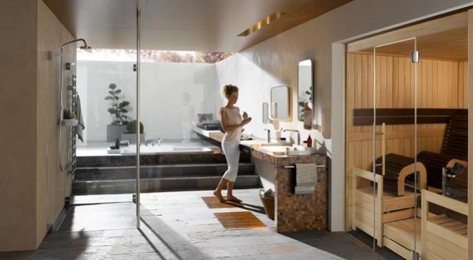 heimsauna von helo bietet entspannung f r k rper geist. Black Bedroom Furniture Sets. Home Design Ideas