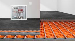 Keramik-Klimaboden von Schlüter-Systems