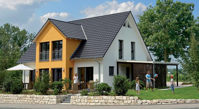 BDF Holz-Fertigbau Hanse Haus