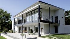 FingerHaus Kundenhaus Exklusiver Ausblick Außenansicht